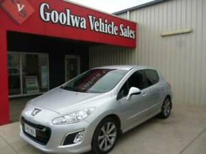 2012 PEUGEOT 308 ALLURE TURBO 5 DOOR AUTOMATIC HATCHBACK Goolwa Alexandrina Area Preview