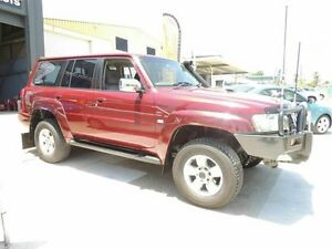 2005 Nissan Patrol GU IV MY05 ST Maroon 5 Speed Manual Wagon Yeerongpilly Brisbane South West Preview