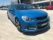 2014 Holden Commodore VF MY14 SV6 Sportwagon Storm Blue 6 Speed Sports Automatic Wagon Muswellbrook Muswellbrook Area Preview