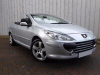 Peugeot 307 CC 2.0 HDI Sport 136 ....Diesel Convertible with Electric Metal Folding Roof