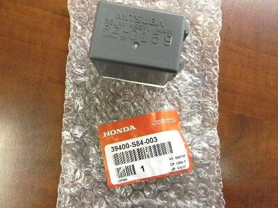 (Genuine Honda OEM - Main Fuel Injector Relay - 39400-S84-003)
