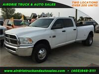 2012 Ram 3500 SLT Crew Cab Long Box 6 SPD Manual Diesel Dually