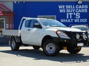 2014 Mazda BT-50 UP0YF1 XTR Freestyle White 6 Speed Manual Utility Welshpool Canning Area Preview