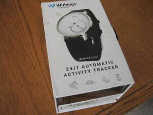 brand new, sealed in box Withings health tracker watch