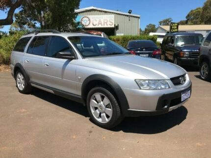 2006 Holden Adventra VZ MY06 SX6 Silver 5 Speed Automatic Wagon