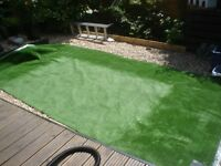 2 PIECES ARTIFICIAL GRASS CARPET