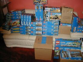 New and sealed, vast Lego Collection, over 560 sets Current and discontinued.