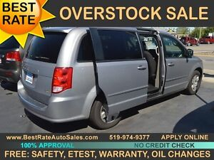 2013 Dodge Grand Caravan SE, STOW-N-GO can be yours for $47/week
