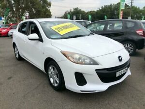 2011 Mazda 3 BL10F2 Neo Activematic White 5 Speed Sports Automatic Hatchback