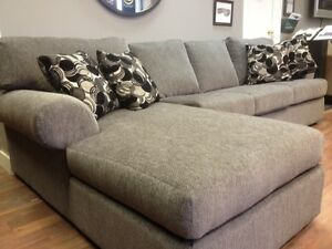 Customize your Calgary Sectional -or $1388 for the Floor Model