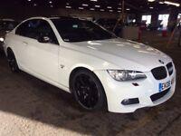 2008 BMW 320D 3 SERIES 2.0 M SPORT DIESEL MANUAL COUPE WHITE LONG MOT LEATHERS N 1 6 5 C CLASS A5 A3