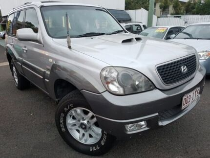 2005 Hyundai Terracan HP MY05 Silver 4 Speed Automatic Wagon Coorparoo Brisbane South East Preview
