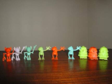34 Crater Critters and Assorted Cereal Characters Sydney City Inner Sydney Preview