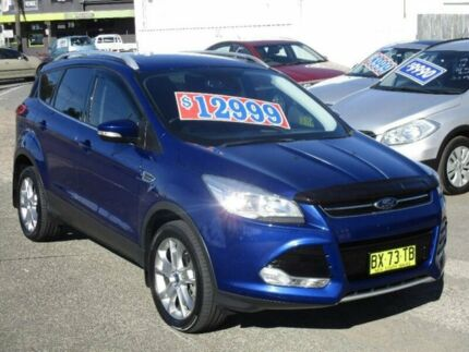 2013 Ford Kuga TF Trend PwrShift AWD Blue 6 Speed Sports Automatic Dual Clutch Wagon Broadmeadow Newcastle Area Preview