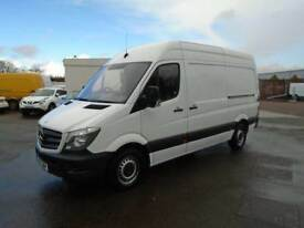 Mercedes-Benz Sprinter 313 MWB H/R EURO 5 129PS DIESEL MANUAL WHITE (2015)