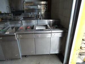 NEW AND USED DEEP FRYERS