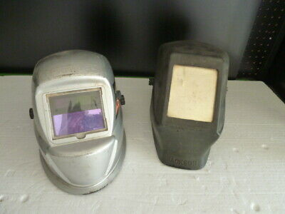 Lot Of 2 Jackson Vintage Welder Helmet Mask