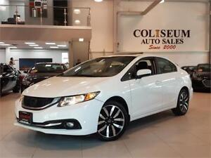 2014 Honda Civic Sedan TOURING-AUTO-NAVIGATION-CAMERA-LEATHER-SU