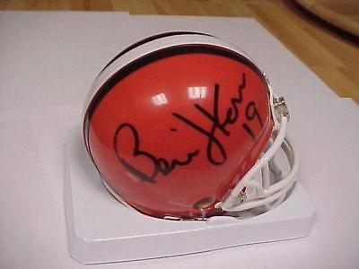 Bernie Kosar Signed Browns Mini Helmet with COA
