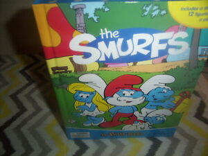 The Smurfs my busy books.Star Trek triviagame.Key box 48 keys.