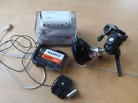 Sony FDR-X1000V 4k Action Cam with Hague Suction Mount and Sony Stereo Mic