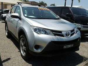2013 Toyota RAV4 ZSA42R GXL (2WD) Silver 6 Speed Manual Wagon South Nowra Nowra-Bomaderry Preview