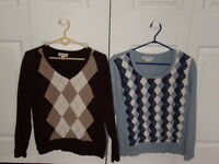 Sweaters, tops and blouses, like new