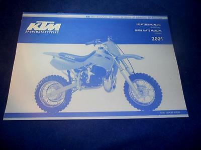 KTM Spare Parts Manual Chassis 01 50 Mini Adventure SX