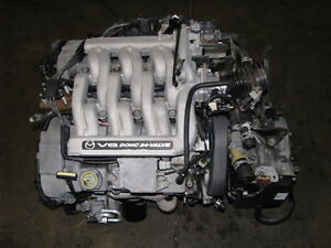 2000-2001 Mazda MPV Engine and Transmission JDM GY-DE GY 2.5L
