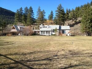 Scenic rural living minutes to penticton with revenue