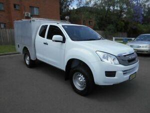 2014 Isuzu D-MAX TF MY14 SX (4x4) White 5 Speed Automatic Space Cab Chassis Bankstown Bankstown Area Preview