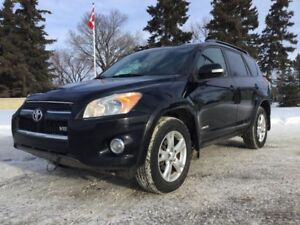 2009 Toyota RAV4, LIMITED-PKG, AUTO, AWD, LEATHER, ROOF!