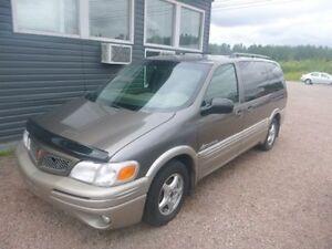 Pontiac Montana 2002 à vendre ! Très bas kilométrage !!