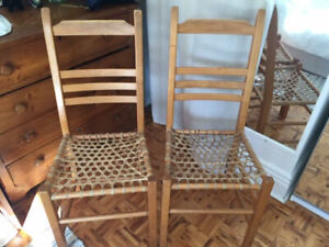 Maple Dining Chairs  - Set of 4
