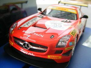 Carrera-Digital-132-30611-Mercedes-Benz-SLS-AMG-GT3-Horn-Motorismo-034-Nr-32-034-2011
