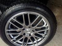 """4 X18"""" Rims,RUN FLAT TiresBridgestone 80%, Continental95%,BMW5,6"""