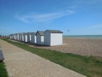 Beach hut, Goring Beach close to toilets and sea lane cafe