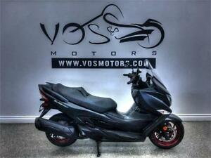 2018 Suzuki Burgman 400 ABS-FO-AN400AL8-No Payments For 1 Year**