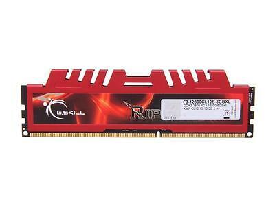 G.SKILL Ripjaws X Series 8GB 240-Pin DDR3 SDRAM DDR3 1600 (PC3 12800) Desktop Me