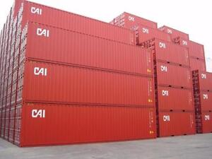 Sea Containers 20' and 40' used for sale Cambridge Kitchener Area image 1