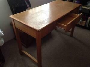 Wooden desk - free Balmain Leichhardt Area Preview