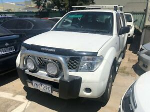 2005 Nissan Pathfinder R51 ST (4x4) White 5 Speed Automatic Wagon Hoppers Crossing Wyndham Area Preview