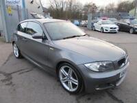 2009 09 BMW 1 SERIES 2.0 118D M SPORT 3D 141 BHP DIESEL
