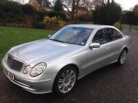 2006 Mercedes E320 Sport CDI Automatic 7 gears TOP OF THE RANGE F1 style flappy paddle DVD player