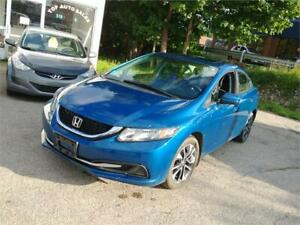 2015 Honda Civic | Sunroof | Heated Seats | Dealer Serviced