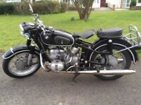 1959 BMW R 60 CLASSIC MOTORCYCLE ONE PREV. OWNER RECENT CLUTCH, RINGS RUNS WELL