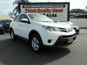 2013 Toyota RAV4 ZSA42R GX 2WD White 6 Speed Manual Wagon Caboolture South Caboolture Area Preview