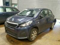 2017 Peugeot 108 1.0 Active BREAKING FOR SPARES PARTS ONLY