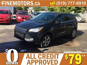 2013 FORD ESCAPE SE * 4X4 * ECO BOOST * CAR LOANS FOR ALL CREDIT London Ontario image 5