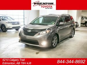 2014 Toyota Sienna SE, Leather Bolsters, Back Up Camera, Sunroof